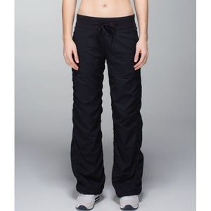 Lululemon black studio pants